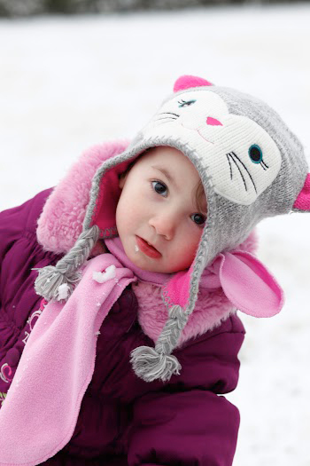 Little Girl In Winter Coat